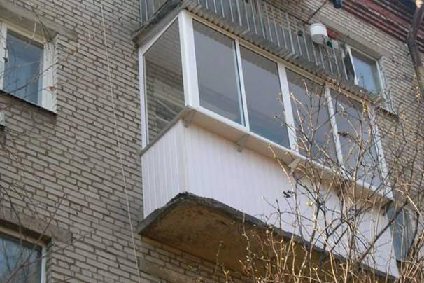 Конструкции балконов в жилом доме.